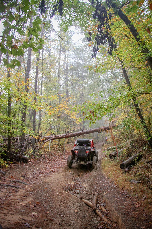A forest ATV ride thanks to MadRamps systems